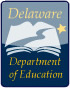 Logo for the Delaware Department of Education
